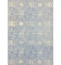 Paul Punzo Flowers + Circles 3 Wallpaper Print by Paul Punzo