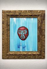 Paul Punzo Framed Luchador Print by Paul Punzo