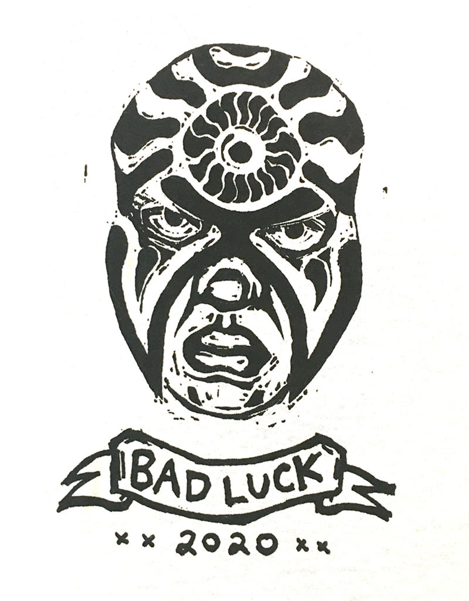 Paul Punzo Bad Luck 2020 Tee by Paul Punzo