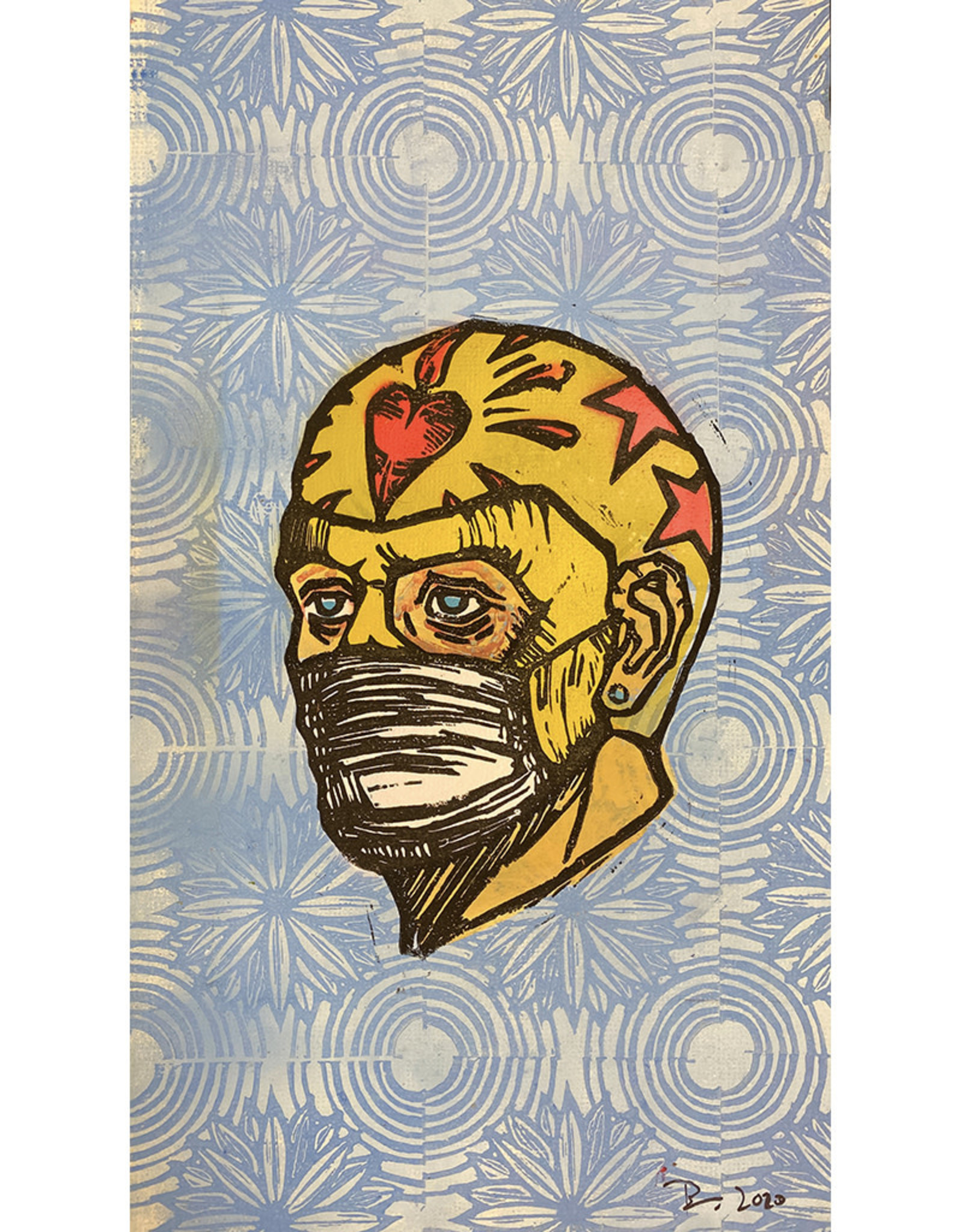 Paul Punzo Safety First Print (no lettering) by Paul Punzo
