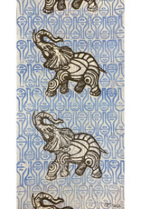 Paul Punzo Elephants Wallpaper Print by Paul Punzo