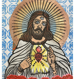 Paul Punzo Jesus Print by Paul Punzo