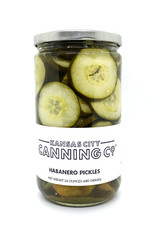 Kansas City Canning Co. Cucumber Habanero Pickles by Kansas City Canning Co.