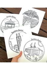 doodlestation Assorted Lawrence, KS Prints by DoodleStation