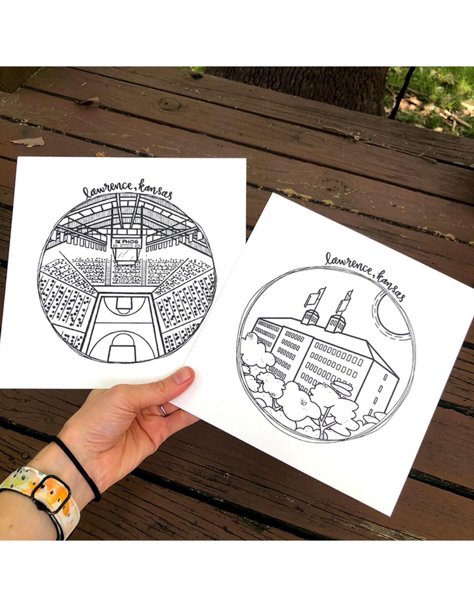 doodlestation Lawrence, KS Prints by DoodleStation