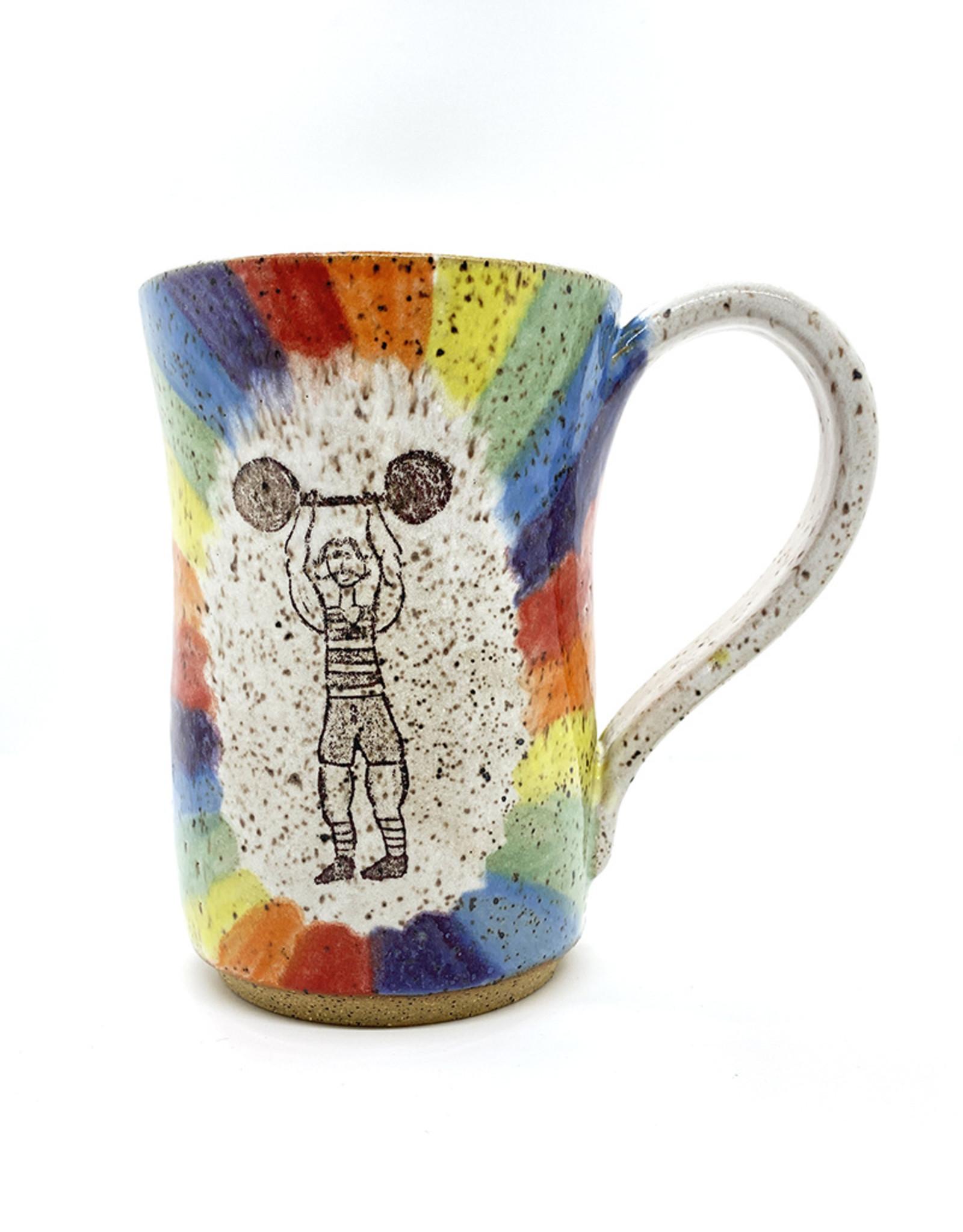 Melanie Harvey Pottery Stoneware Mugs by Melanie Harvey Pottery
