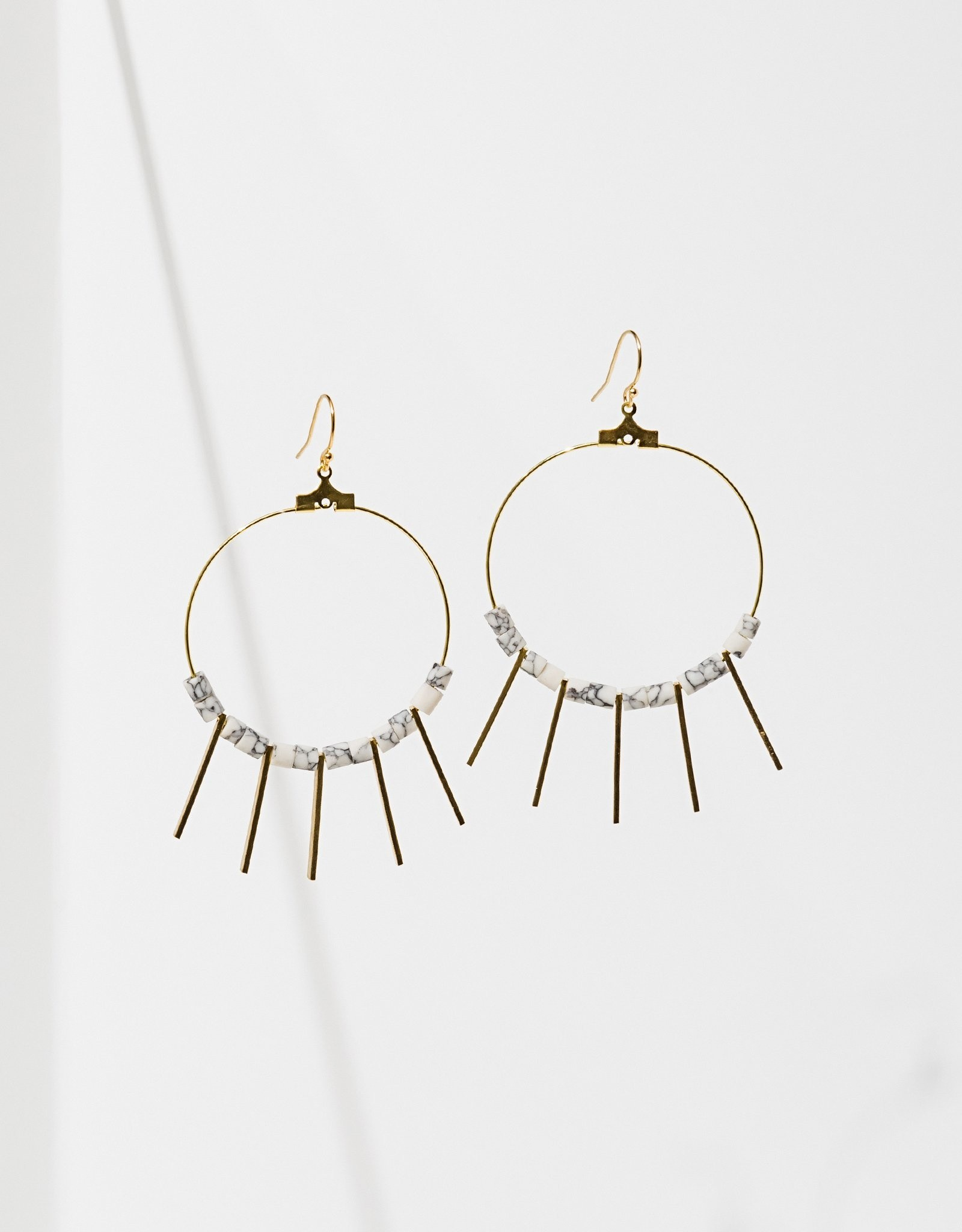 Larissa Loden Jewelry Shani Earrings by Larissa Loden Jewelry