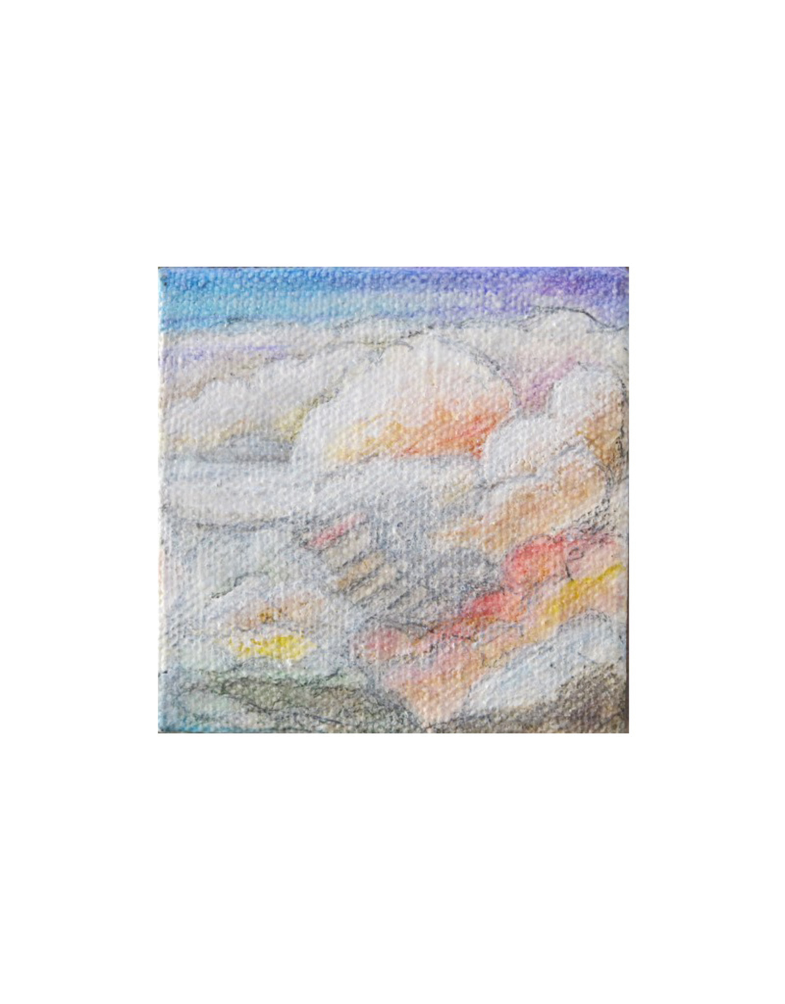 "Laurie Culling ""Clouds"" Magnet by Laurie Culling"