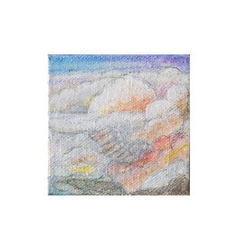 """Laurie Culling """"Clouds"""" Magnet by Laurie Culling"""