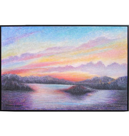 Laurie Culling Glorious Sunset by Laurie Culling