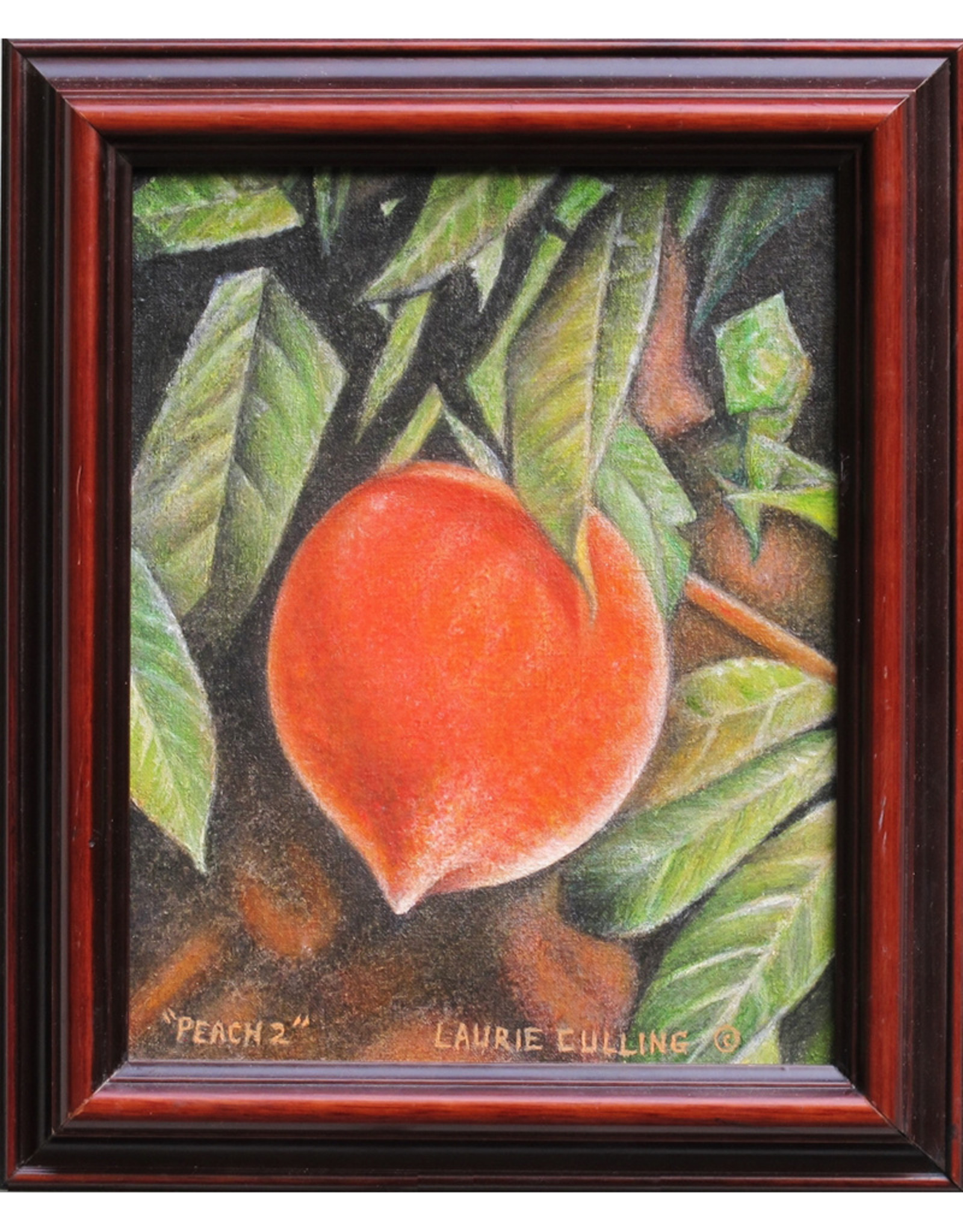 Laurie Culling Peach 2 by Laurie Culling