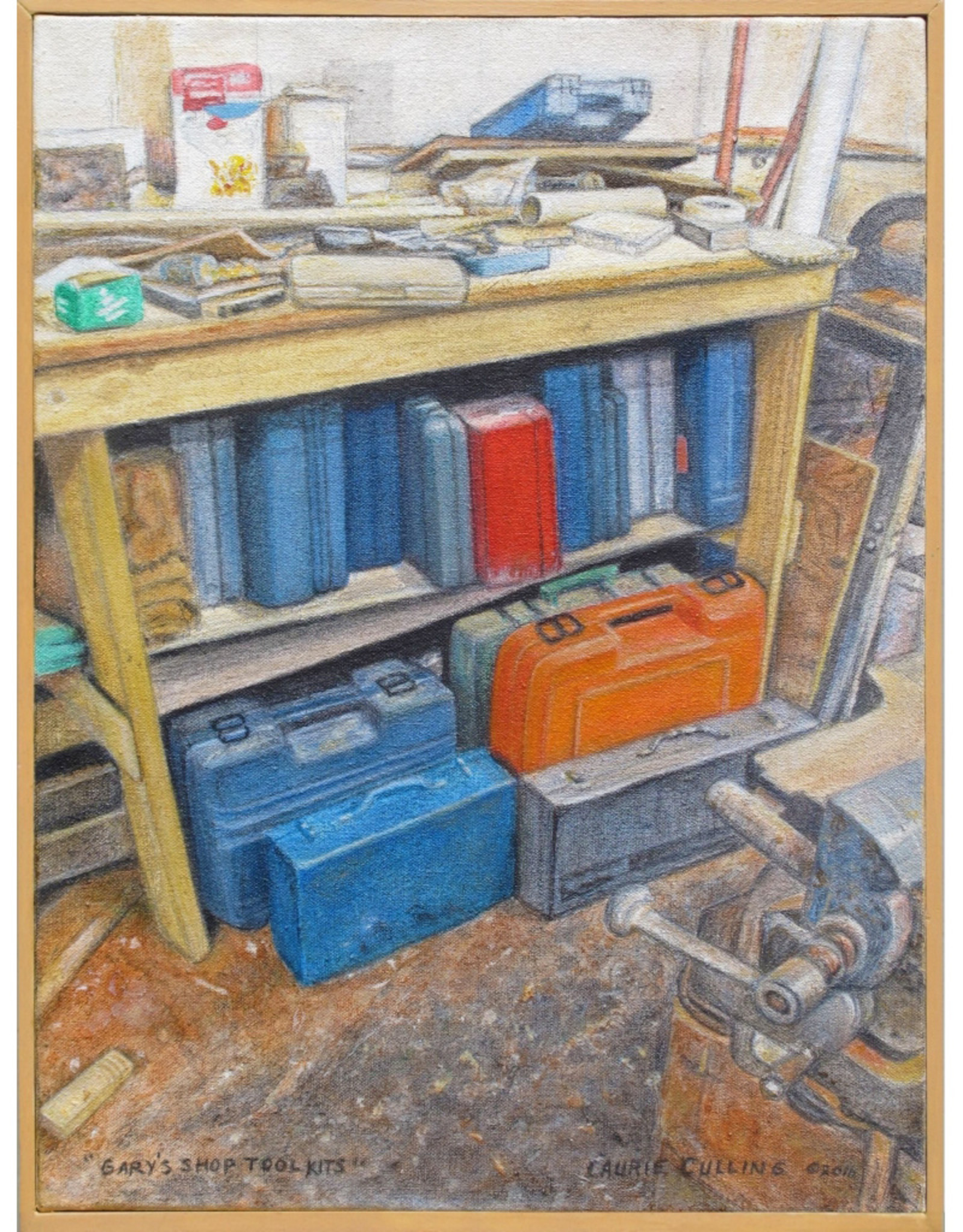 Laurie Culling Gary's Shop Tool Kits by Laurie Culling