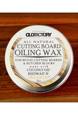 Old Factory All Natural Cutting Board Seasoning Wax // 4 oz Tin
