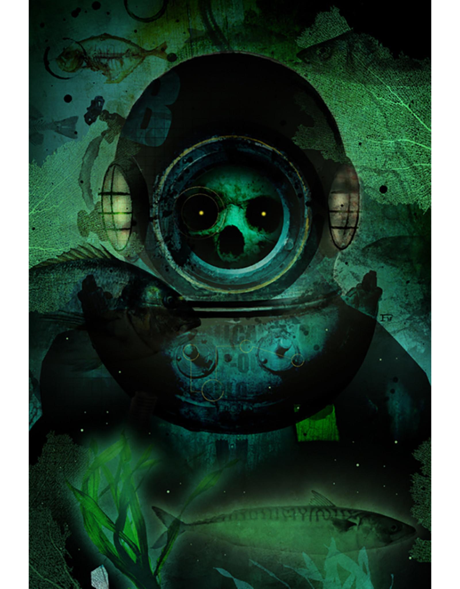 Bryan Fyffe Aquanaut + Cosmonaut Prints // Bryan Fyffe