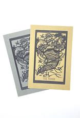 Sooth Stitcher Major Arcana Tarot Card Mini Prints by Anne Luben