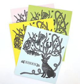 Anne Luben Stuck On You Letterpress Greeting Cards by Anne Luben