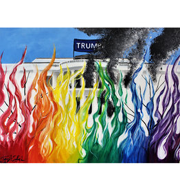 Tay Stark Trump Should've Raked Print by Tay Cambria