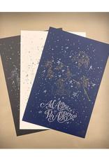Skylab Letterpress Large Format Ad Astra Letterpress Posters by Skylab Letterpress