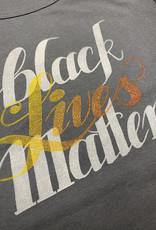 Janellabee Studio Black Lives Matter Block Print Womens Tee