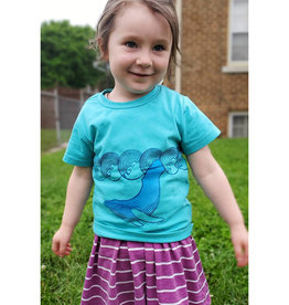 Janellabee Studio Kids Humpback Whale Tee by Janellabee Studio