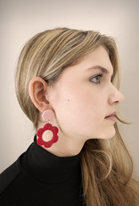 Emmi Murao Flower Earrings by Emmi Murao