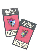 Big Bot Designs Atomic Shock Enamel Pins by Big-Bot Design
