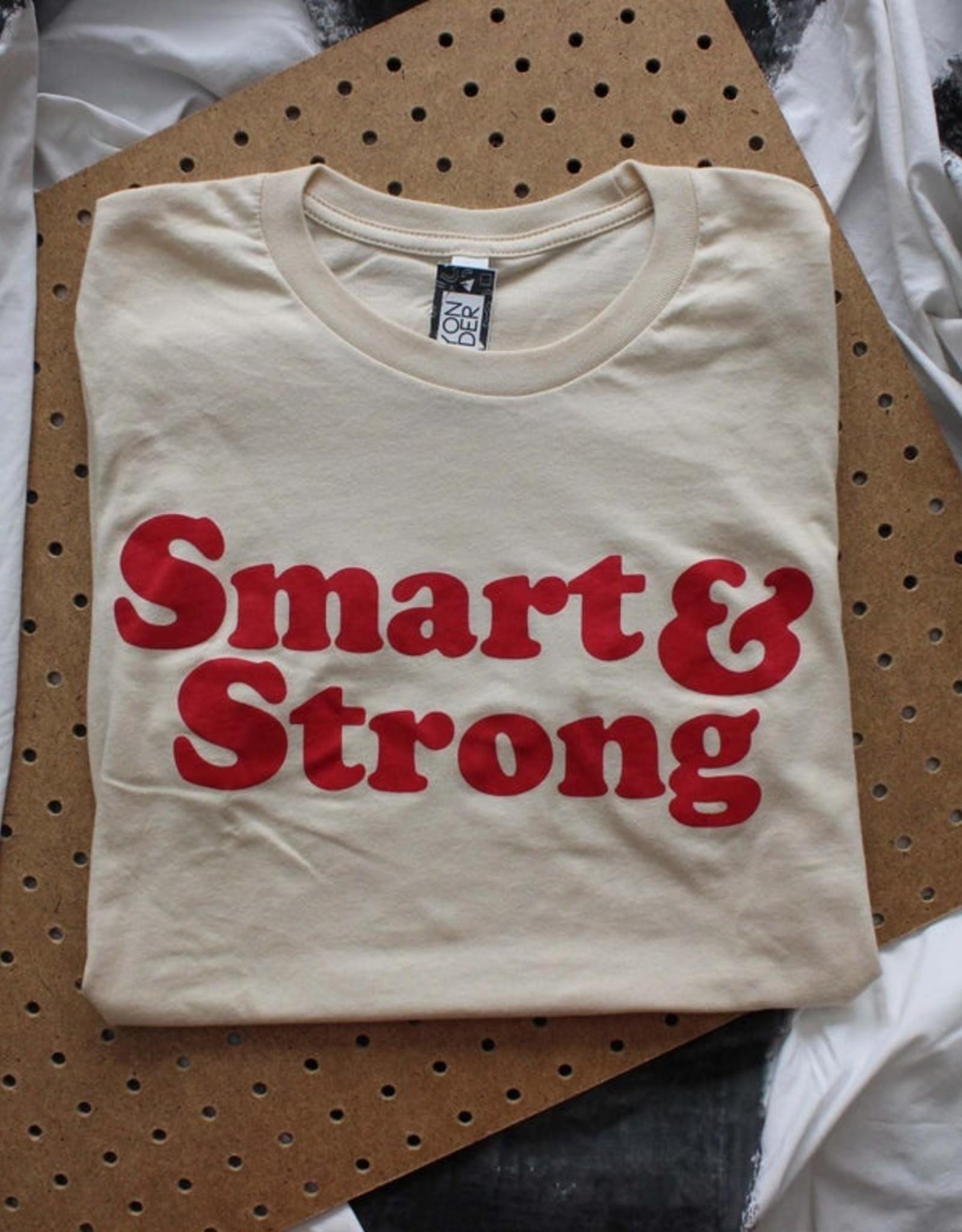 Yonder Studios Smart & Strong Tee by Yonder Studios
