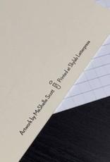Skylab Letterpress Enter If You Dare Letterpress Print by Skylab Letterpress