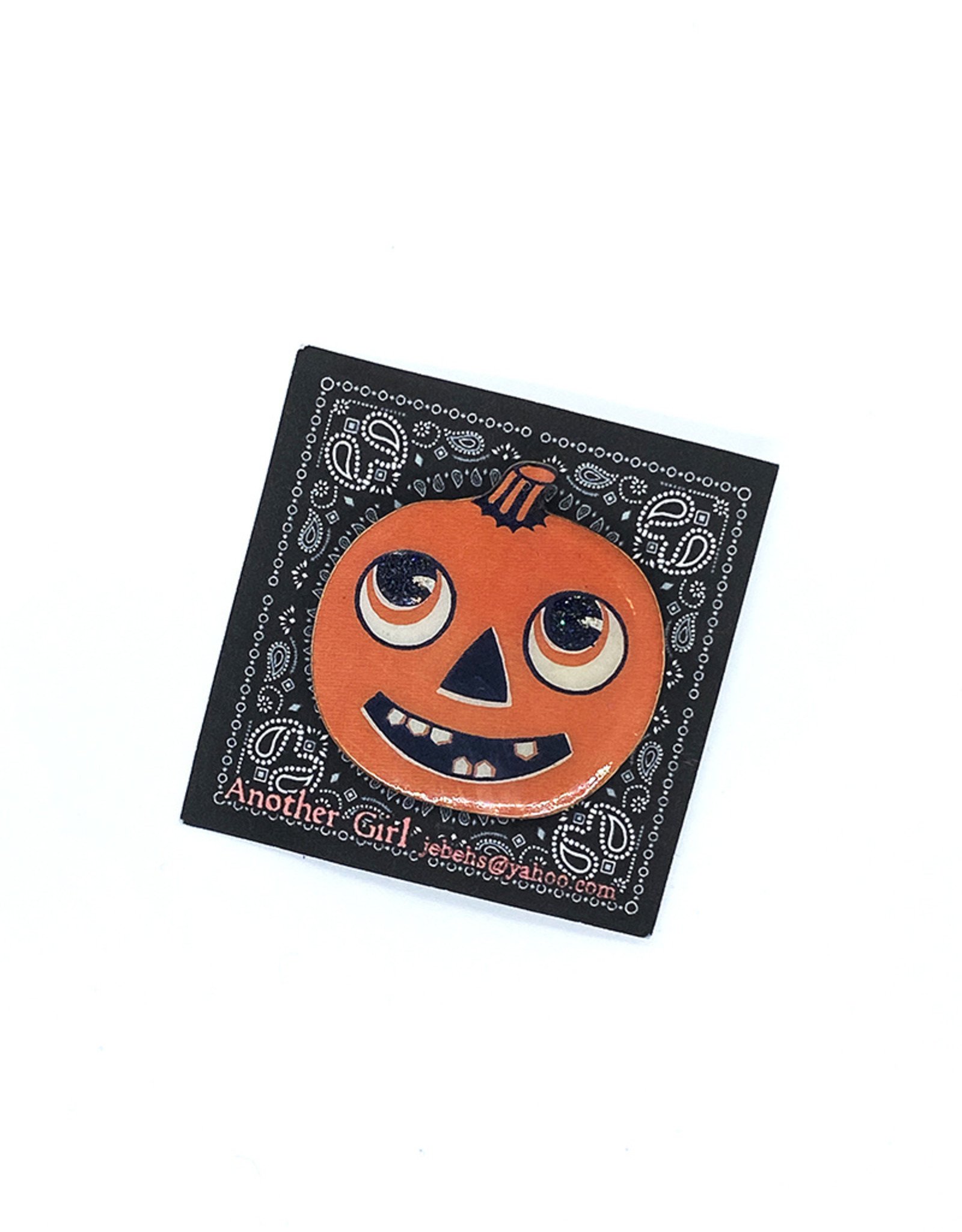 Another Girl Halloween-Inspired Wooden Pins by Another Girl