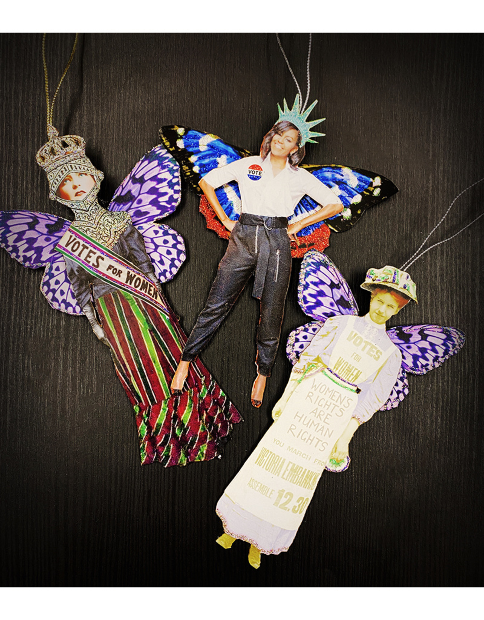 Another Girl Vote/Womens Rights Ornaments by Another Girl