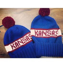 The Knit Hole KU Knit Hats by The Knit Hole