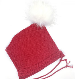 WilleWorks Red Pixie Hat by WilleWorks (0-6 Months)