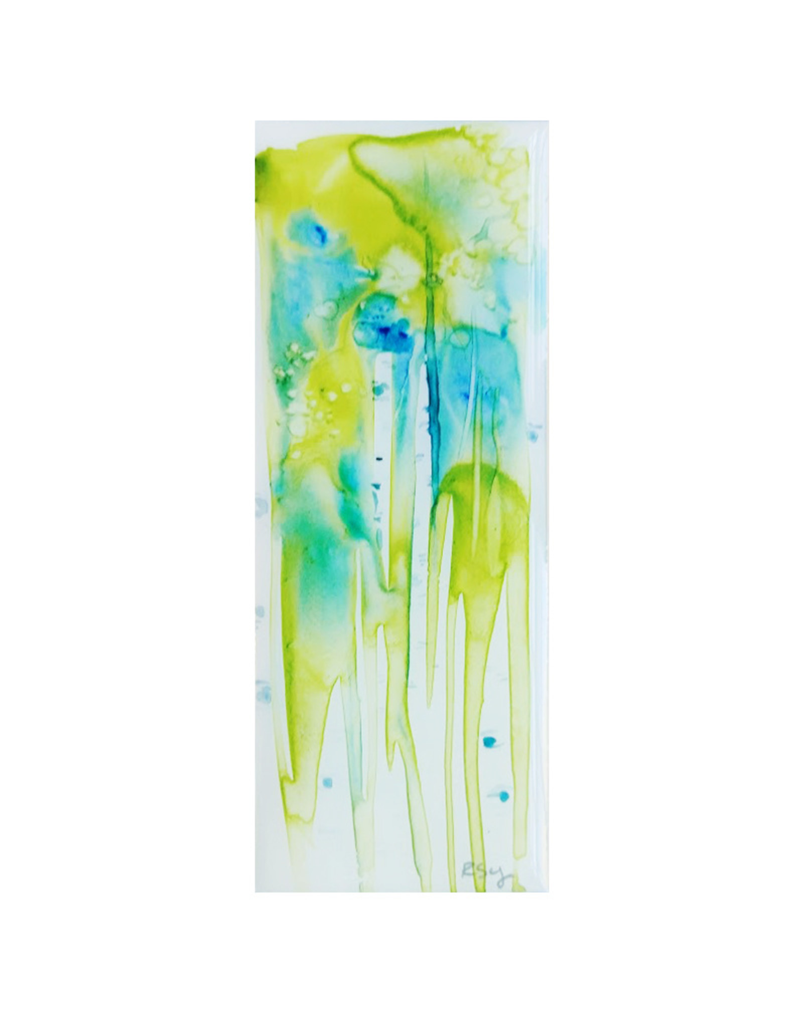 Roura Young Abstract Aspen on board