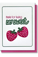Kiss and Punch Thank You Cards by Kiss and Punch