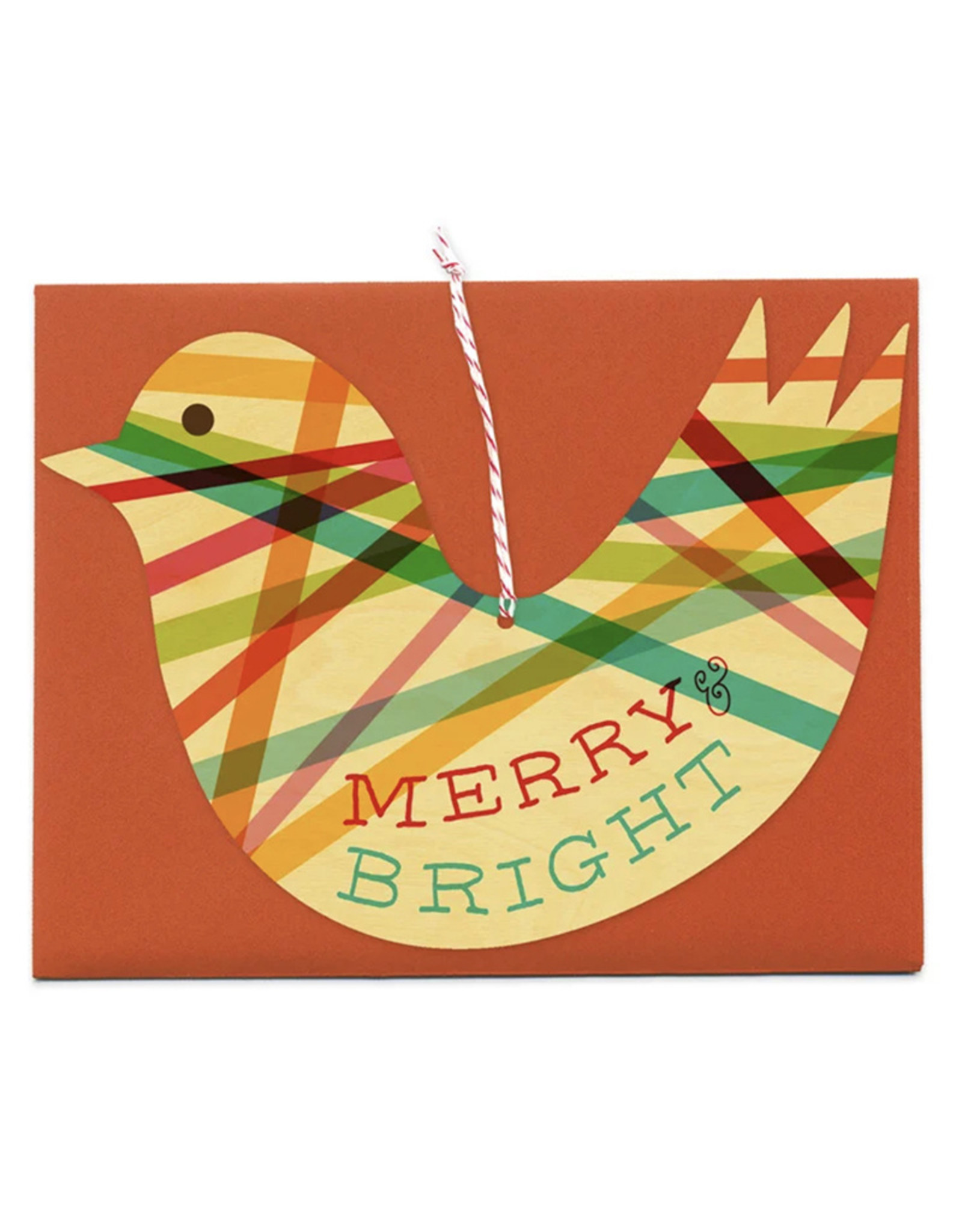 Night Owl Paper Goods Wooden Ornament Cards by Night Owl Paper Goods