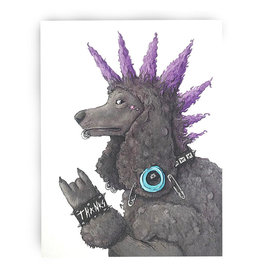 Serious Creatures Thank You Cards by Serious Creatures