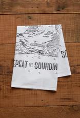 Oh Little Rabbit Repeat The Sounding Joy Tea Towel