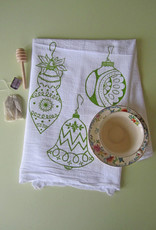 Oh Little Rabbit Ornaments Tea Towel