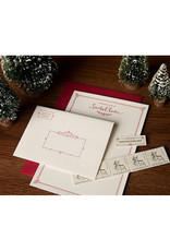 Skylab Letterpress Santa Stationery Kit