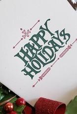 Skylab Letterpress Holiday Cards by Skylab Letterpress