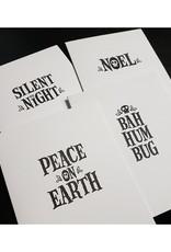 Skylab Letterpress Twisted Holiday Cards by Skylab Letterpress