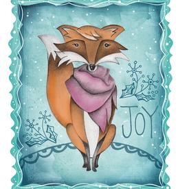 Honeybee Creative Joy Fox 5x7 Print