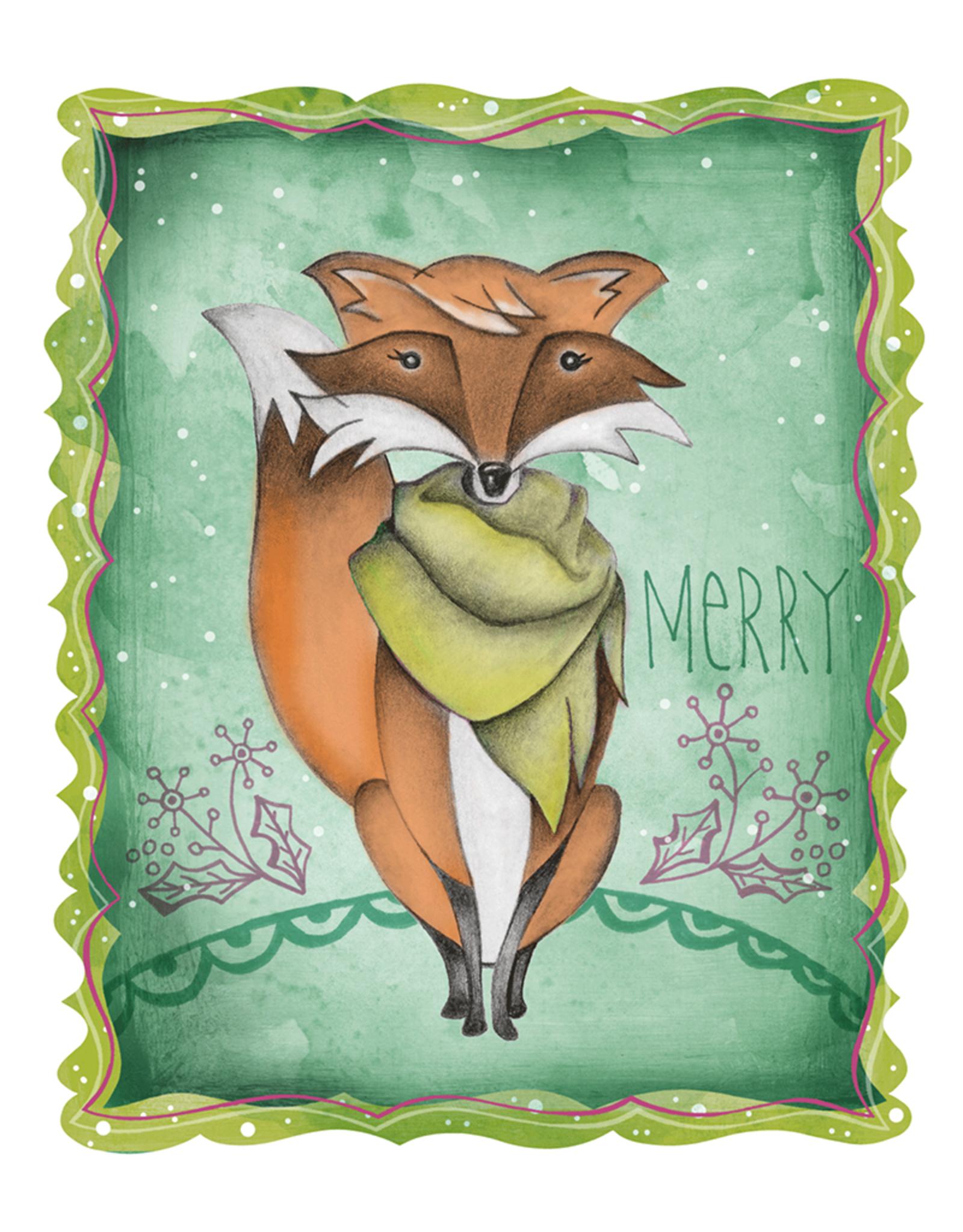 Honeybee Creative Merry Fox Card