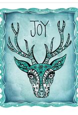 Honeybee Creative Joy Deer Card