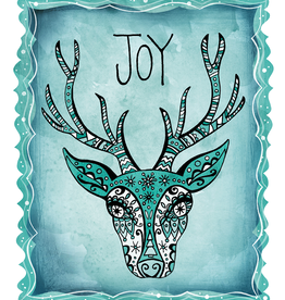 Honeybee Creative Joy Deer Card