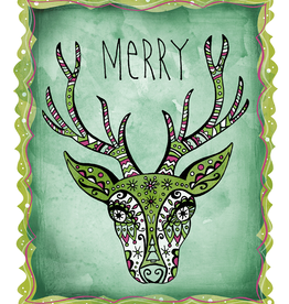 Honeybee Creative Merry Deer Card