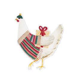May We Fly Holiday Hen Magnet