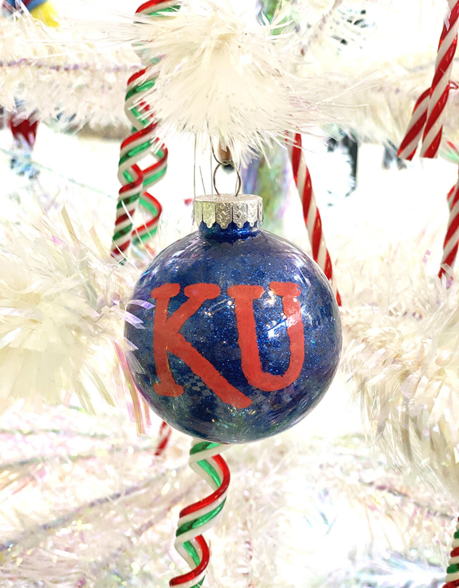 Reciprocity Designs KU Ornaments by Reciprocity Designs