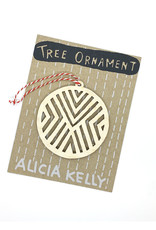 Alicia Kelly Wooden Ornaments by Alicia Kelly