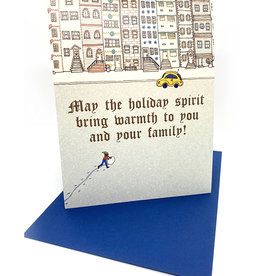 Emmi Murao Holiday Lights Card by Emmi Murao